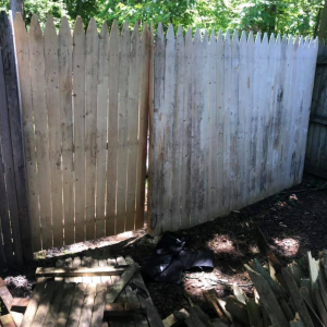 Fence Repair After 1