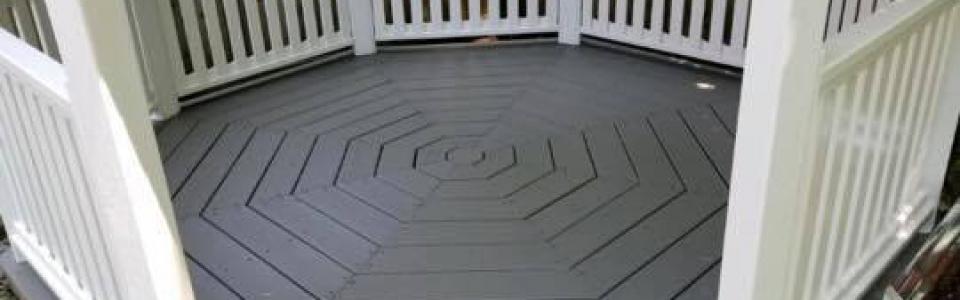 Gazibo Floor After