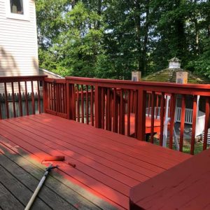 Painting Exterior Deck